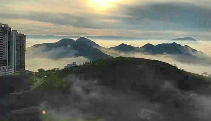 neblinas no vila da serra