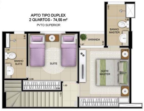 inovatto duplex apartamento