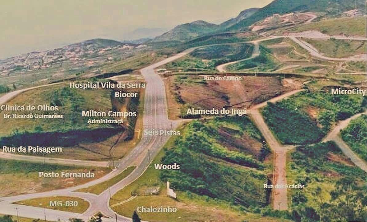 6 pistas vila da serra nova lima