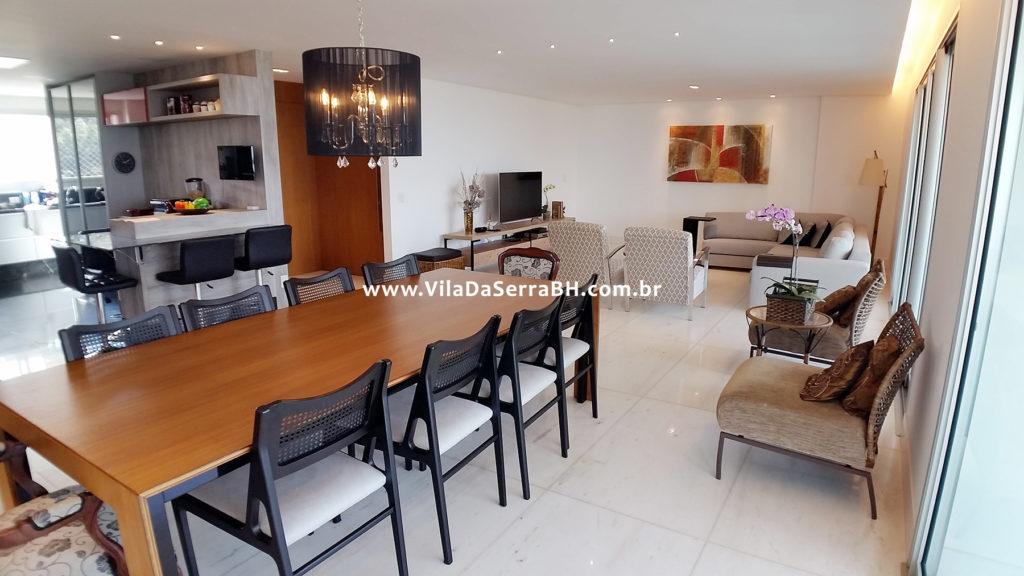 Edificio Green Garden Vila Da Serra Apartamento 269 M Em Andar Alto