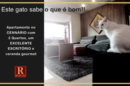 Apartamento com home office no Vila da Serra - Condomínio Cennario - Alameda do Ingá, 685