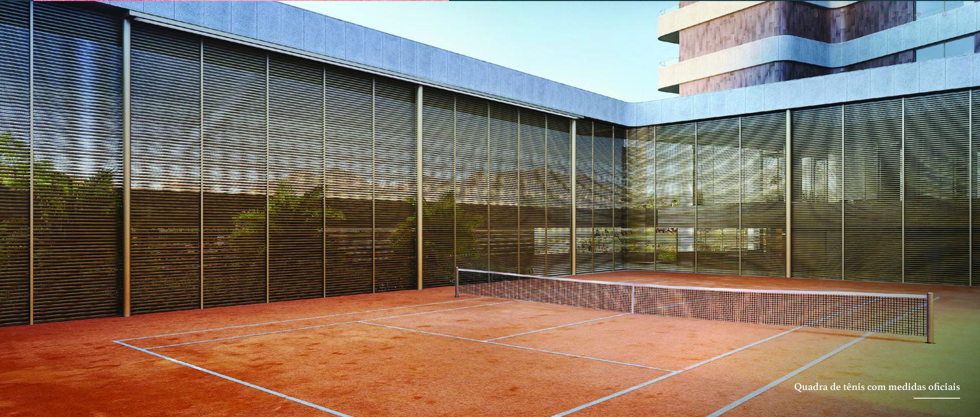 quadra de tenis Brisa vale do sereno