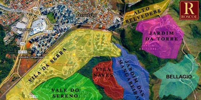 Vila da Serra Nova Lima – Expansão Imobiliaria