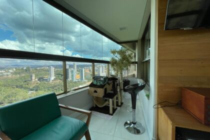 Apartamento a venda no Vila da Serra - Edifício Pucon - Alameda do Morro, 190